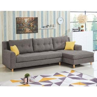 【H&D】瑪可欣L型沙發-面右(L型沙發 沙發組 右向沙發 面右沙發 沙發 布沙發)