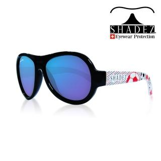【SHADEZ】兒童太陽眼鏡 紅色足球之星 7-15歲(台灣製造 鏡架可彎)