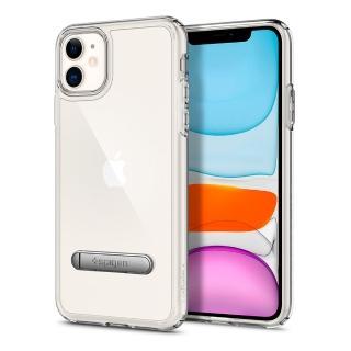 【Spigen】iPhone 11 Ultra Hybrid S-立架式軍規防摔保護殼(輕薄 防摔殼 軍規保護 透明支架殼)