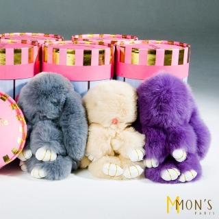 【MON'S】西班牙獺兔毛玩偶吊飾