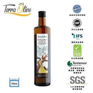 【Terra菜更香】西班牙冷壓初榨橄欖油(750mlx1瓶)