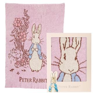【奇哥】比得兔雙層柔舒毯禮盒-粉(90×125cm)