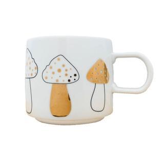 【smith hsu】聖誕馬克杯/金粉圓點大蘑菇(交換禮物)