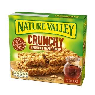 【NATURE VALLEY】天然谷 纖穀派 楓糖燕麥(21gx2片x5條/盒)