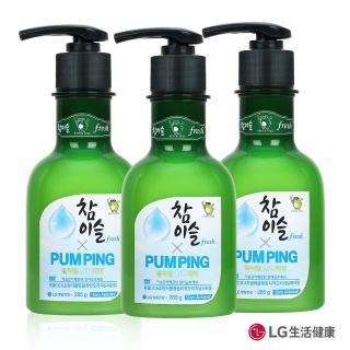 【竹鹽x真露】燒酒造型Pumping牙膏好友分享組(牙膏285g*3)