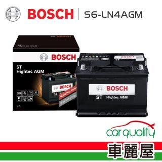 【BOSCH 博世】電瓶 S6-LN4 AGM80 歐系啟停_送安裝(車麗屋)