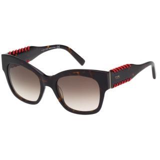 【TOD'S】編織系列 太陽眼鏡(琥珀色)
