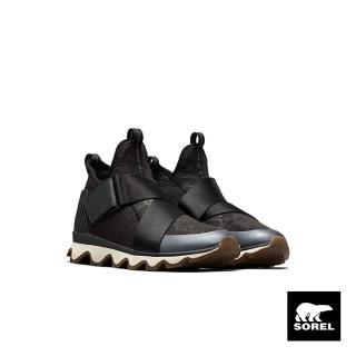 【SOREL】KINETIC 女款休閒鞋(黑色)