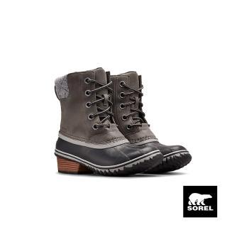 【SOREL】女款低跟休閒靴(棕色)