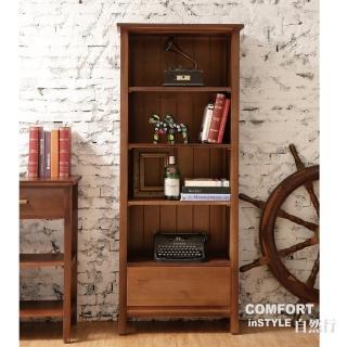 【CiS 自然行】胡桃鉗書櫃 咖啡胡桃色(兒童家具 櫥櫃  展示櫃 收納櫃 實木家具  原木傢俱)