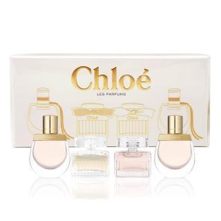 【Chloe' 蔻依】Chloe 經典女小香水禮盒(5mlx4)