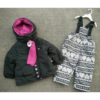 【橘魔法】滑雪長褲+雪衣外套 兒童滑雪 加厚防風 防潑水(滑雪服 雪褲 保暖滑雪裝)