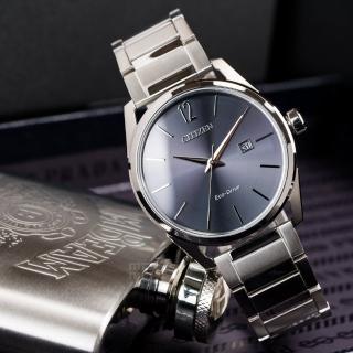 【CITIZEN 星辰】Eco-Drive 極致紳士光動能時尚腕錶(BM7411-83H)