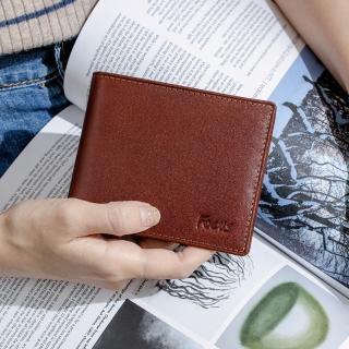 【FOCUS】經典原皮簡約4卡零錢袋短夾(FTB2825)