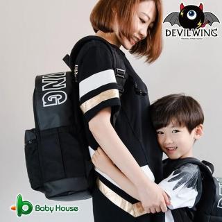 【DevilWing】小惡魔黑親子時尚成人背包 - 成人款