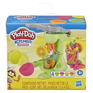 【PLAYDOH 培樂多】廚房系列(無毒 美食家遊戲組 果汁機組 E6686)