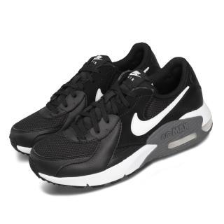 【NIKE 耐吉】休閒鞋 Air Max Excee 運動 女鞋 氣墊 避震 皮革 簡約 舒適 穿搭 黑 白(CD5432-003)
