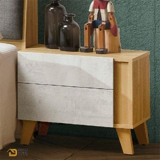 【德泰傢俱】JOYE清水模風格1.8尺床頭櫃