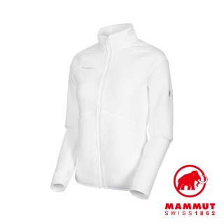 【Mammut 長毛象】Innominata Pro ML Jacket Women 立領厚刷毛保暖外套 純白 女款 #1014-01500