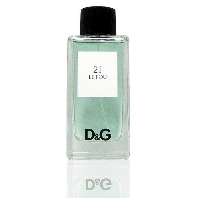 【D G】組合 Dolce Gabanna Anthology 21 Le Fou 天之驕子淡香水(100ml Test 包裝 無外盒)