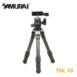 【SAMURAI 新武士】TSC 10碳纖維小型腳架