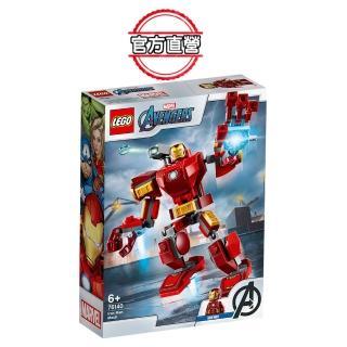【LEGO 樂高】超級英雄系列 Iron Man Mech 76140 鋼鐵人 復仇者(76140)