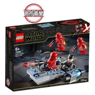 【LEGO 樂高】星際大戰系列 Sith Troopers Battle Pack 75266 星戰 模型(75266)
