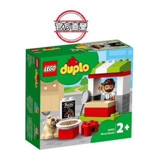 【LEGO 樂高】得寶幼兒系列 披薩攤 10927 學齡前 扮演遊戲(10927)
