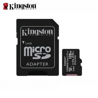 【Kingston 金士頓】★Canvas Select Plus microSDXC 128GB 記憶卡(SDCS2/128GB)