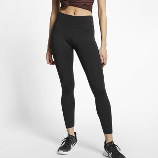 【NIKE 耐吉】AS W NIKE ONE LUXE 7/8 TIGHT 女款 運動 路跑 慢跑 健身 緊身褲 黑 BQ9995010