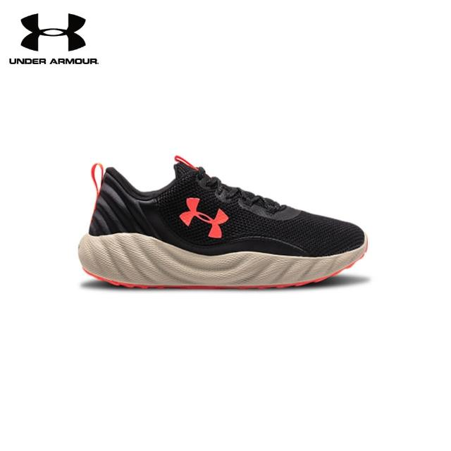 UNDER ARMOUR【UNDER ARMOUR】UA 男 Charged Will 運動休閒鞋(黑紅)