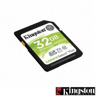 【Kingston 金士頓】Canvas Select Plus SDHC 32G 記憶卡(SDS2/32GB)
