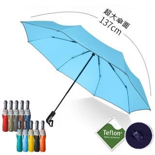 【2mm】都會行旅 超大傘面抗風自動開收傘(多色任選)