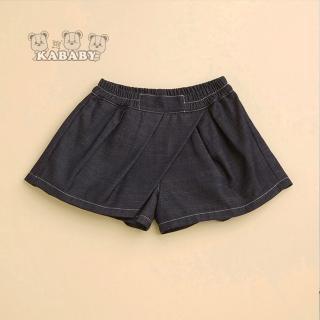 【金安德森】KA翹女孩蝴蝶結短褲(藍色)