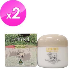 【澳洲Natures Care】Leimei 超滋潤綿羊霜含維他命E(2入組100g/罐)