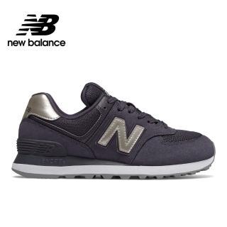 【NEW BALANCE】NB 復古鞋_女性_暗紫_WL574WNM-B楦 運動 休閒 潮流 時尚