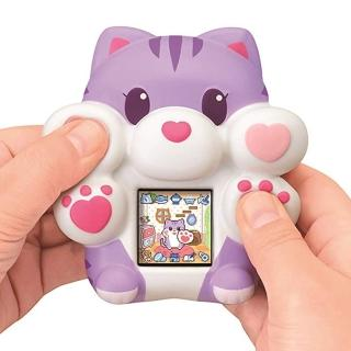 【SEGA TOYS】QQ麻糬小貓咪 粉紫(網紅 開箱)