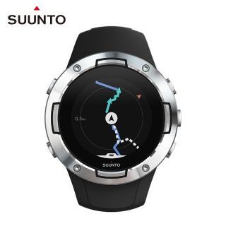 【SUUNTO】Suunto 5 堅固輕巧質精、絕佳電池續航力的多項目運動GPS腕錶(精鋼黑)