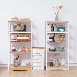 【樂嫚妮】廚房多用途收納置物架 微波爐架 五層收納櫃(電器架)