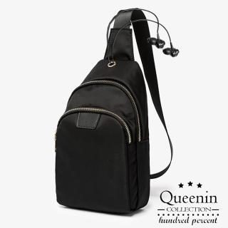 【DF Queenin】小清新防潑水牛津布單肩背包