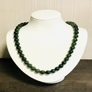佳琪源天然滿綠翡翠珠鍊