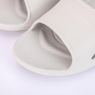 【生活工場】Q彈氣墊家居拖鞋 灰