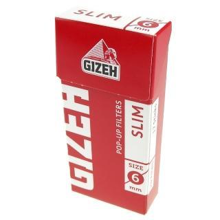 【GIZEH】德國進口-POP-UP捲煙專用濾嘴-6mm(102粒裝*2盒)