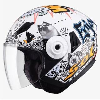 【SOL】SO-5 哈士奇 3/4罩(安全帽│機車│內襯│鏡片│半罩│開放式安全帽│全可拆內襯│內藏墨鏡│GOGORO)