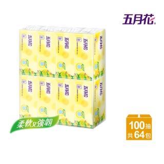 【MAY FLOWER 五月花】花園版抽取式衛生紙(100抽*8包*8袋)