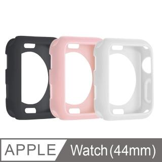 Apple Watch 4/5代 防摔邊框矽膠保護套(44mm)