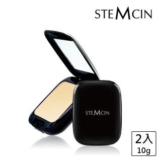 【STEMCIN】鑽石光感防曬礦物蜜粉餅(買1送1)