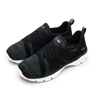 【LOTTO】女 輕量美型健走鞋 EASY WEAR 系列(黑灰 1160)