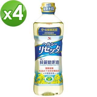 【統一】綺麗健康油4入組(國家健康食品認證有助於不易形成體脂肪)-贈禮袋*2(送完為止)