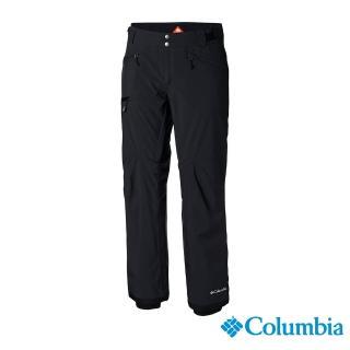 【Columbia 哥倫比亞】男款-Omni-HEAT防水保暖雪褲-黑色(UWE12700BK / 保暖.防水.機能)